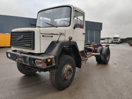chassis cabine vrachtwagen Magirus 170 D 17 *** 4X4 *** 1983