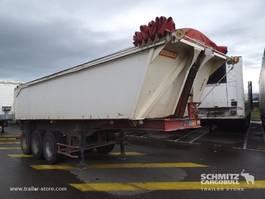 huifzeil oplegger General Trailers Semitrailer Benne aluminium 24m³ 2004