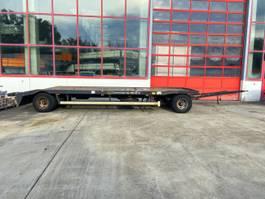 overige vrachtwagen aanhangers Huffermann HPA 20.72  2 Achs Tieflader für Abroll undAbsetzmulden 2008