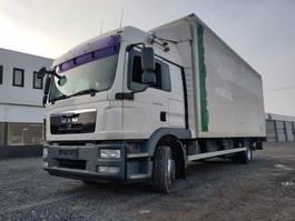 bakwagen vrachtwagen MAN TGM 12 .290 Euro5 Iso-koffer 2011