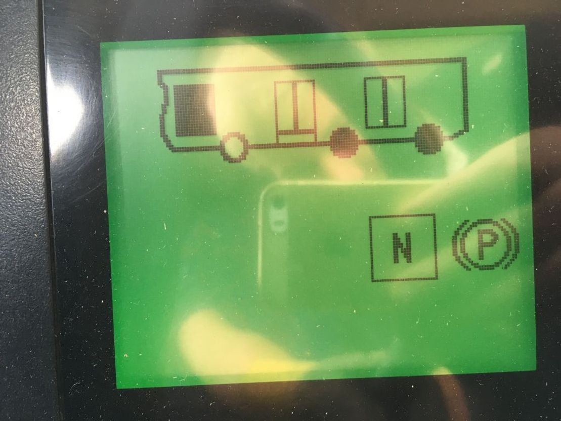 electronica bus onderdeel Continental Display Version 2.1 VDO 1366.11010101 D-Mux Citaro Bus Setra 2014