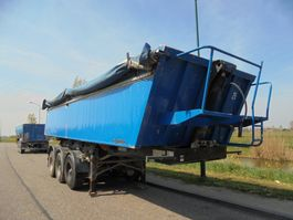 kipper oplegger Meiller 3-Axle Tipper / 30 m3 / Steel Chassis-Alu Box /  BPW Alxes / Lift Axle 2003