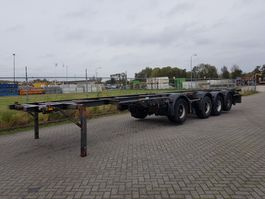 container chassis oplegger Contar Combi Chassis 4 as BPW 1994