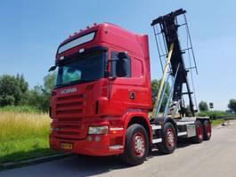 containersysteem vrachtwagen Scania R 480 8X2 NCH Manual Retarder 2008