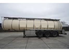 tankoplegger Feldbinder 3 AXLE FOOD / CHEMIE TANK TRANSPORT TRAILER 1998