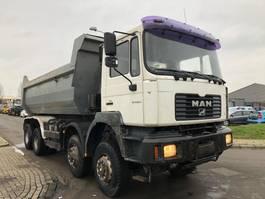 kipper vrachtwagen > 7.5 t MAN FE 410 (41-414) 2001