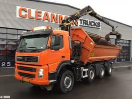 kipper vrachtwagen > 7.5 t Terberg FM 1950 8x6 Palfinger 16 ton/mtr Z-kraan 2008