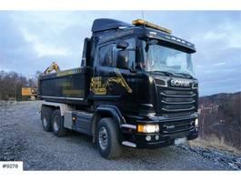 kipper vrachtwagen > 7.5 t Scania R580 6x4 Tipper truck. Steel suspension. WATCH VID 2014