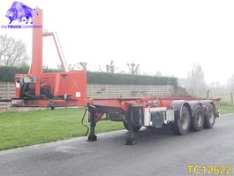 container chassis oplegger ASCA Container Transport 2004