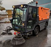 veegmachine Schmidt Swingo Compact 200 + TOP aus kleiner Gemeinde 2014