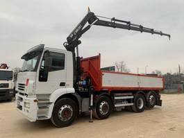 kipper vrachtwagen > 7.5 t Iveco Stralis 260S43 HIAB 200 C5 2005