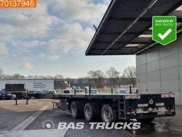 platte oplegger Broshuis 3A04-48 3 axles 2x Extendable Bis: 27.55m 3x Hydr. Steering axle 1994