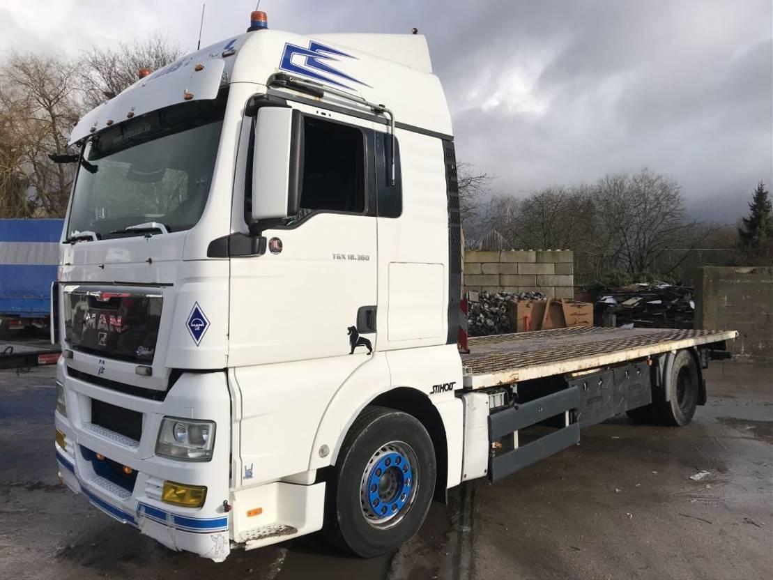autotransporter vrachtwagen MAN TGX 18.360 **EURO4-WINCH-MANUAL GEARBOX** 2009