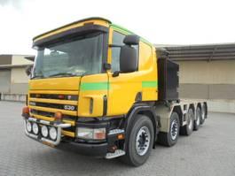 zware last trekker Scania 144G-530 10X4 250 TON 2001
