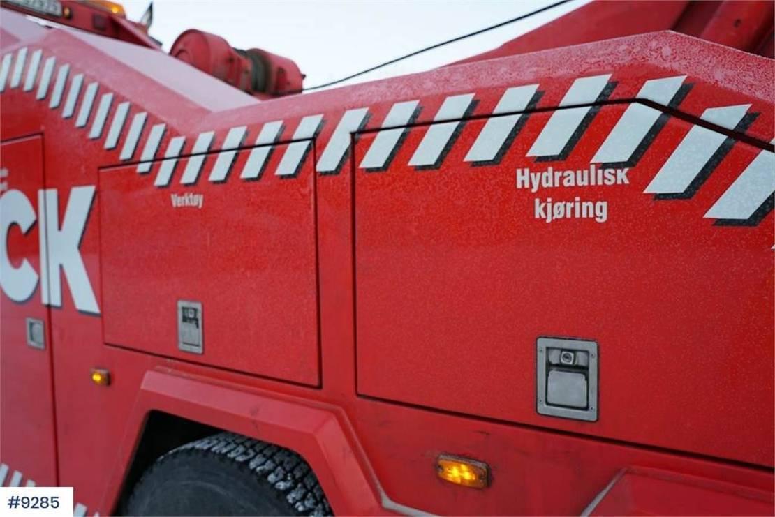 takelwagen-bergingswagen-vrachtwagen Volvo FH 16 6x4 WATCH VIDEO 2005