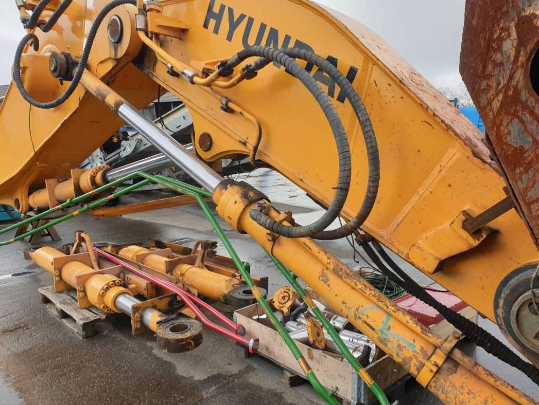 graafarm Hyundai Robex 800-7A, front shovel boom, stick, bucket 2011