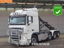 containersysteem vrachtwagen DAF XF 105 510 8X2 Intarder Big-Axle Liftachse Lenkachse Euro 5 2013
