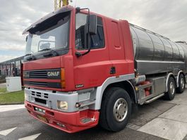 tankwagen vrachtwagen Ginaf M 3233-S 6X4 MANUAL EURO 2 + DIJKSTRA TANK 20600 LITER 2000