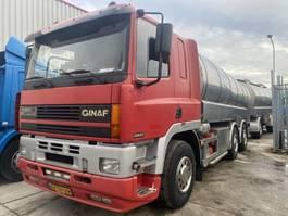 tankwagen vrachtwagen Ginaf M 3233-S 6X4 + Burg 3 AS TANKAANHANGWAGEN - TOTAAL 43000 LITER 2000