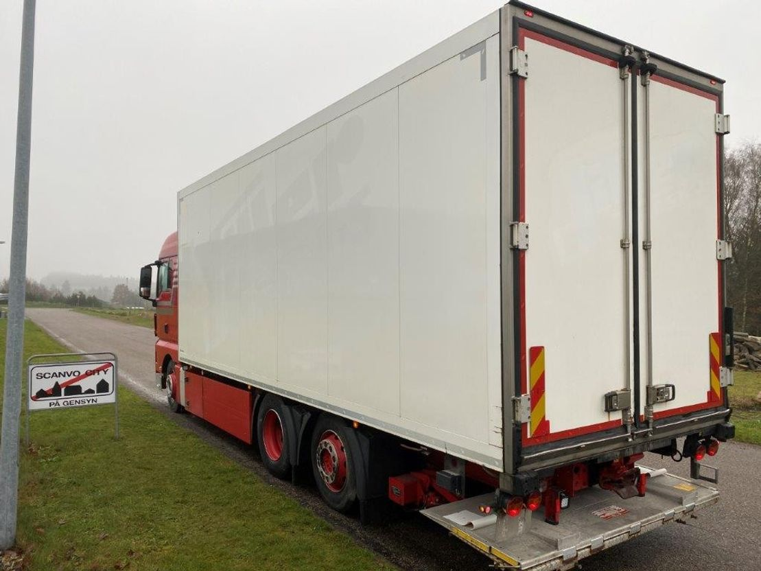 koelwagen vrachtwagen MAN TGX 26-480 6x2-4 LL 2014