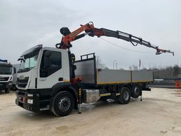 open laadbak vrachtwagen Iveco Stralis A260SY48 + Palfinger PK27.000 2016