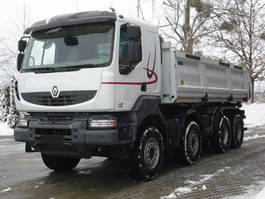 kipper vrachtwagen > 7.5 t Renault KERAX 460 8x4 E5 EEV DSK Mit Bordmatik