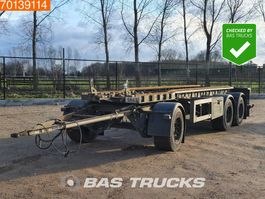 container chassis aanhanger GS Meppel AIC-2700 N 3 axles Liftachse 2005