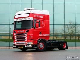 standaard trekker Scania R500-V8 EURO 5 TOPLINE MANUAL RETARDER FULL AIR NL TRUCK 2013