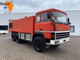 brandweerwagen vrachtwagen Renault CRASHTENDER SIDES FIRE TRUCK 6x6 1989
