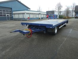 schamelaanhanger vrachtwagen GS AV-2000 L 2 As Open aanhanger Zware UNP kantbalken Uitschuifbaar achterkalf 2004