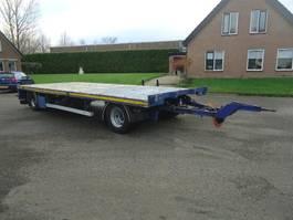 schamelaanhanger vrachtwagen GS AV-2000L GS  2 As Open aanhanger Zware UNP kantbalken Hard houtenvloer 2008