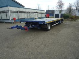 schamelaanhanger vrachtwagen GS AV-2000L GS 2 As Open aanhanger Zware UNP kantbalken Hard houtenvloer 2009