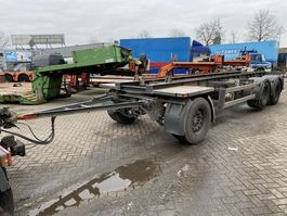 container chassis aanhanger Burg BPA 09-18 ACXXX 2005