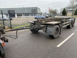container chassis aanhanger Burg 3 AS 2003