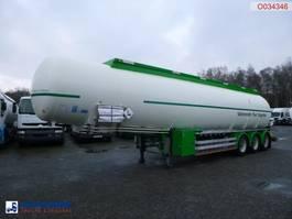 tankoplegger Feldbinder Fuel tank alu 44.3 m3 / 6 comp 2007