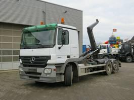 containersysteem vrachtwagen Mercedes-Benz Actros 2541 L6x2 Abrollkipper Meiller RK 20.70 2006