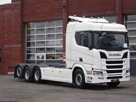 chassis cabine vrachtwagen Scania R650 8x4*4 - 8.3 M chassis - Full air - Retarder - Leather - Navi - PTO 2018