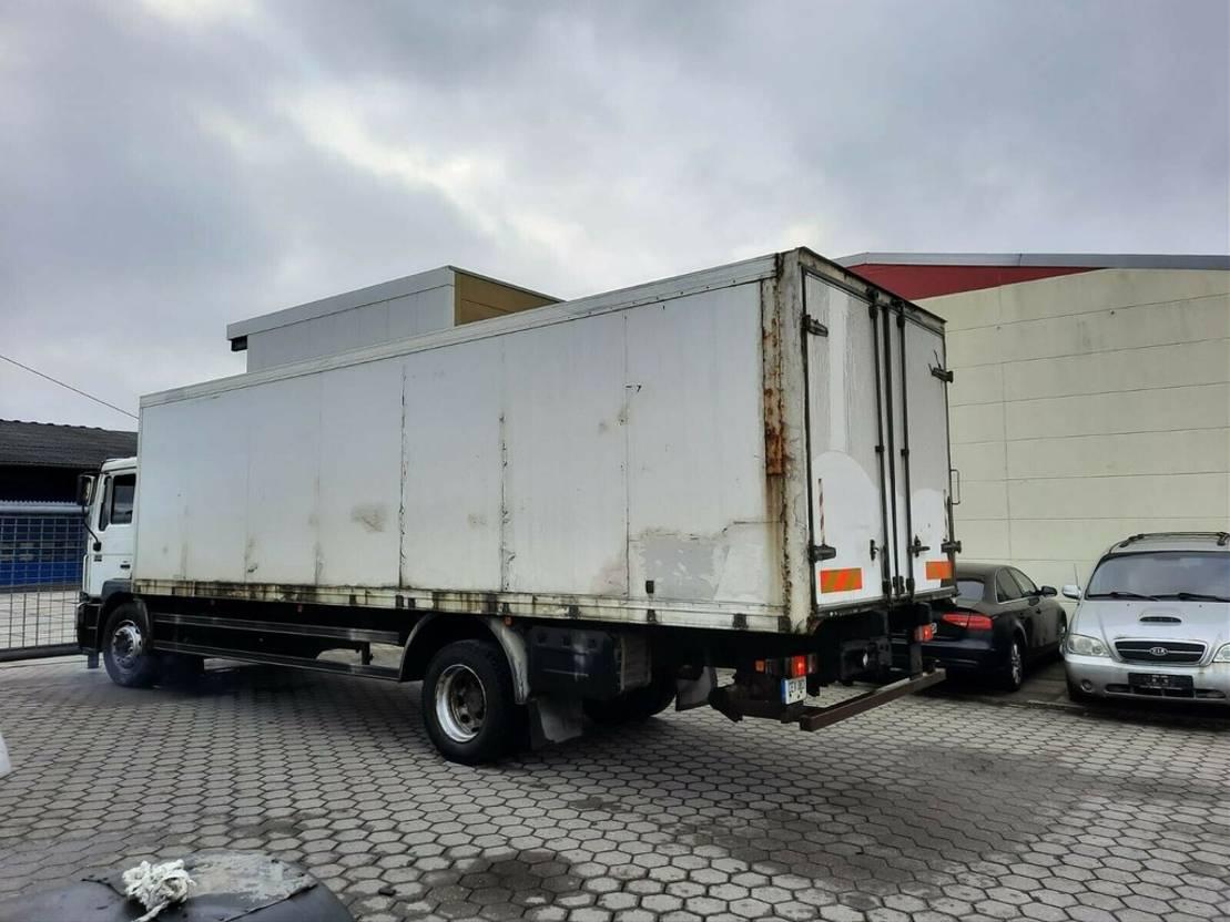 koelwagen vrachtwagen MAN 18.264 Kühlkoffer 1997