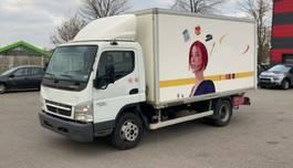bakwagen vrachtwagen Mitsubishi CANTER FUSO 7C15 Klima Ladebordwand Euro 5