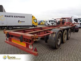 container chassis oplegger Trailor SD 92 + 3 AXLE 1995