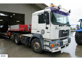 standaard trekker MAN F26.414 6x2 truck. See km! WATCH VIDEO 2000