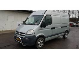 gesloten bestelwagen Opel Movano 3300 2005