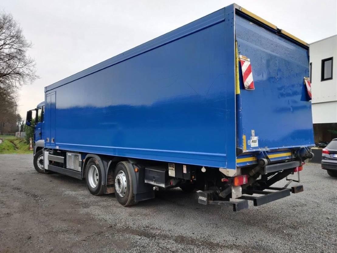 koelwagen vrachtwagen MAN TGS 26.320 Euro5 2013