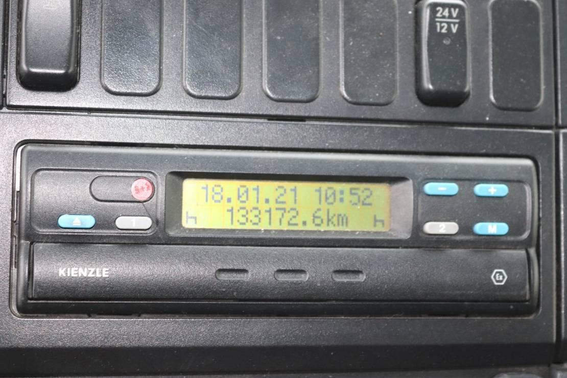 koelwagen vrachtwagen Mercedes-Benz Atego 1328  E3 LBW Carrier Supra Original 133tkm 2004