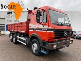 kipper vrachtwagen > 7.5 t Mercedes-Benz 1844 6x2 eps Three pedals Tipper (3 way tipper) 1998