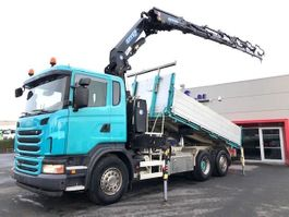 kipper vrachtwagen > 7.5 t Scania G480-6X2/4-STUURAS-EU5-EFFER 30T/M-RADIOSTURING-CONTINUE ROTEREND-RETARDER-3ZIJDIGE KIPPER-TOP 2010