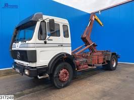 containersysteem vrachtwagen Mercedes-Benz 1928 Steel suspension 1987