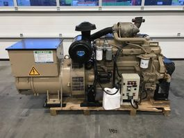 generator John Deere 6068 TF 258 Leroy Somer 120 kVA generatorset 2005