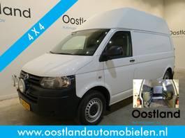 gesloten bestelwagen Volkswagen Transporter 2.0 TDI L2H3 4Motion 4x4 140 PK Servicewagen / Inrichting / Airco / Crui... 2015