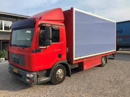 bakwagen vrachtwagen MAN 12-180 2011